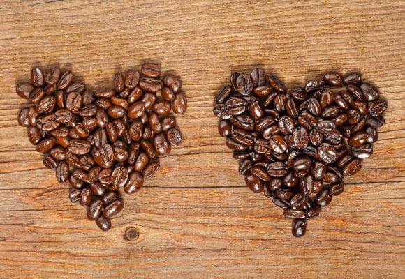 varietà di caffp