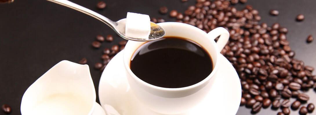 caffè amaro o zuccherato