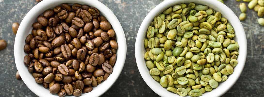 differenza tra caffè nero e verde